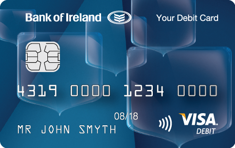 Your Bank of Ireland Code number: Please enter the 6 digit code number on the bottom left of your Visa Debit card