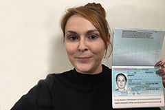 Passport selfie - click to enlarge